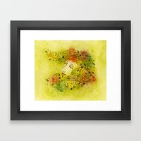 Autumn Nymph Framed Art Print