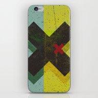 iPhone & iPod Skin featuring CROSS by Metron
