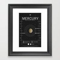 OMG SPACE: Mercury 1970 … Framed Art Print