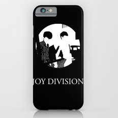 JOY DIVISION - Music | Goth | Indie | Wave | Retro | Vintage | Vector | Black and White | Vinyl  Slim Case iPhone 6s