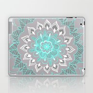 Laptop & iPad Skin featuring Bubblegum Lace by Tangerine-Tane