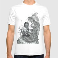 Eatsleepdraw Cover Art -… Mens Fitted Tee White SMALL