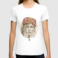 Keep Your Hat On Womens Fitted Tee White SMALL