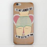 Laundry Daze iPhone & iPod Skin