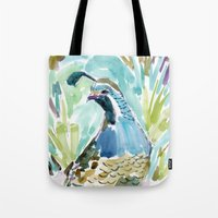 QUINCY THE QUAIL Tote Bag