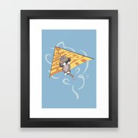 Hang (glide) in There Framed Art Print