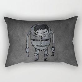 Rectangular Pillow - Cyborg Robot Zombie-boy - Masanori Toda