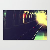 Do Not Walk Into The Lig… Canvas Print