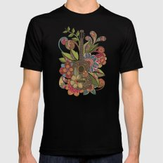 Ever Guitar Mens Fitted Tee Black SMALL