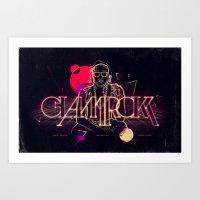 Steve Aoki RMIX Art Print