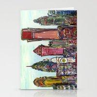 Philadelphia Skyline Stationery Cards