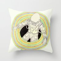 Augonaut Throw Pillow