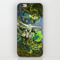 Freedom Green iPhone & iPod Skin