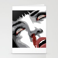 There goes mrs. Mia Wallace Stationery Cards