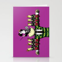 Chorus Line Stationery Cards
