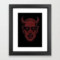 Satan Framed Art Print