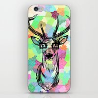 Deer are people too iPhone & iPod Skin
