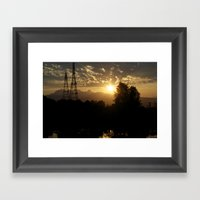 Two Sources Of Power Sol… Framed Art Print