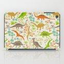 Dinosaur Garden iPad Case