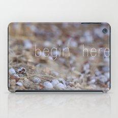 begin here. iPad Case