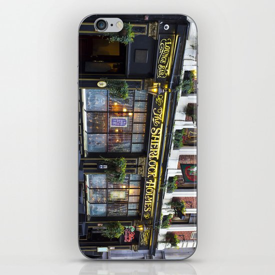 The Sherlock Holmes Pub London iPhone & iPod Skin