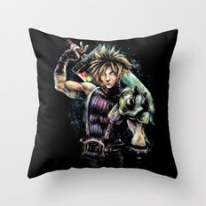 Hero of the Lifestream Throw Pillow