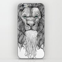 Gentleman Lion iPhone & iPod Skin