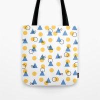 Random Geometric Tote Bag