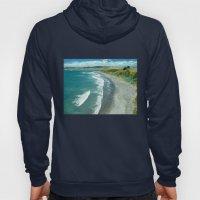 Raglan Beach, New Zealan… Hoody