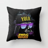 Darth Vader Swag Throw Pillow