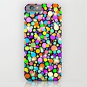 Psychedelic Colors Bright Polka Dots iPhone & iPod Case