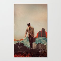 Leaving Their Cities Behind Canvas Print
