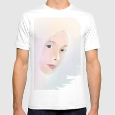 women White Mens Fitted Tee SMALL