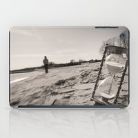 """Our memories of the ocean will linger on, long after our footprints in the sand are gone."" iPad Case"