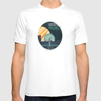 The Artemis Project Mens Fitted Tee White SMALL
