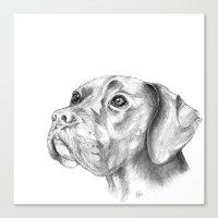 Bella :: By Definition, … Canvas Print