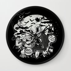 Filling Your Dreams to the Brim with Fright Wall Clock