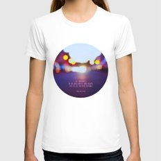 Live your dreams Womens Fitted Tee White SMALL