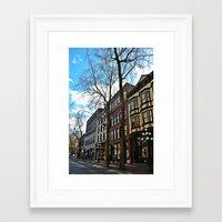 gastown Framed Art Print