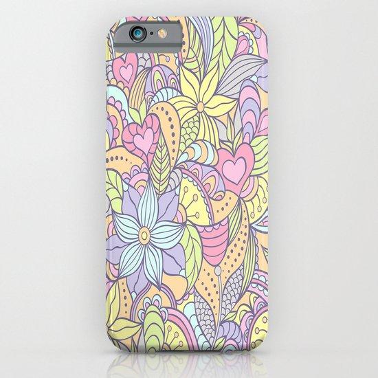 70's Flower Pattern iPhone & iPod Case
