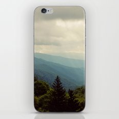 THE LIGHT THROUGH THE CLOUDS iPhone & iPod Skin