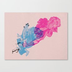 Nerd /// Fight Canvas Print