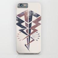 iPhone & iPod Case featuring Lightning Bolt by Matt Borchert