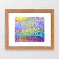 Spin World Framed Art Print