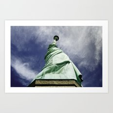 Statue of Liberty 4. Art Print