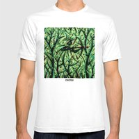 Orixás - Oxossi Mens Fitted Tee White SMALL