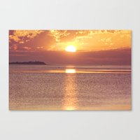 Light The Skies Canvas Print