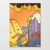 scrap Canvas Print