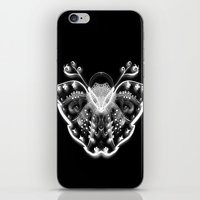 ghost butterfly iPhone & iPod Skin