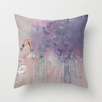 Abstract 136 Throw Pillow